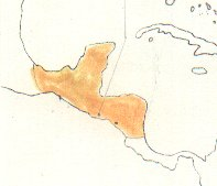 Slate-coloured Solitaire map