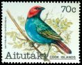 Cl: Red-headed Parrotfinch (Erythrura cyaneovirens)(Out of range)  SG 347 (1981) 550