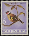 Cl: European Goldfinch (Carduelis carduelis) SG 838 (1964) 375 [3/38]