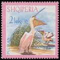 Cl: Dalmatian Pelican (Pelecanus crispus)(Repeat for this country)  SG 1102 (1967) 825 [3/22]