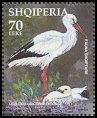 Cl: White Stork (Ciconia ciconia) <<Lejleku>> (Repeat for this country)  SG 2974a (2003) 200 [2/21]