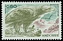 Andorra (French Post) <<Aigle royal>> SG 238 (1972)