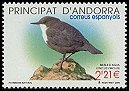Cl: White-throated Dipper (Cinclus cinclus) <<Merla d'aigua>>  SG 334 (2005) 625 [5/10] I have 1 spare [1/64]