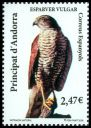 Andorra (Spanish Post) <<Esparver vulgar>> SG 366 (2009)