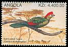 Cl: Red-crested Turaco (Tauraco erythrolophus) SG 1115 (1996) 45