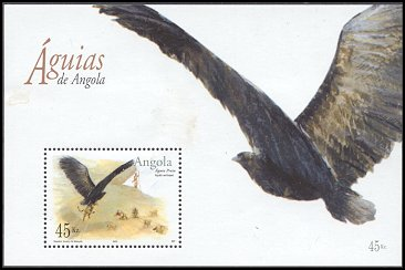 Cl: Verreaux's Eagle (Aquila verreauxii) <<Aguia preta>> (Repeat for this country)  SG 1690 (2003) 550 [2/18]