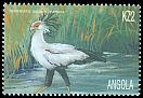 Cl: Secretarybird (Sagittarius serpentarius) <<Serpentario>> (Repeat for this country)  SG 1568 (2000) 175