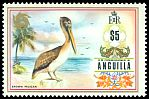 Cl: Brown Pelican (Pelecanus occidentalis) SG 144 (1972) 1600