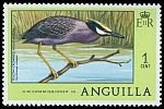 Cl: Yellow-crowned Night-Heron (Nyctanassa violacea) SG 274 (1977) 30