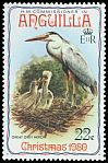 Cl: Great Blue Heron (Ardea herodias) SG 417 (1980) 75