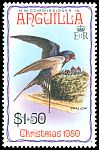 Cl: Barn Swallow (Hirundo rustica) SG 418 (1980) 175