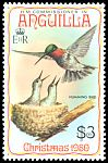 Cl: Ruby-throated Hummingbird (Archilochus colubris)(Out of range)  SG 419 (1980) 225