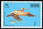 Cl: Brown Pelican (Pelecanus occidentalis)(Repeat for this country)  SG 659 (1985) 175