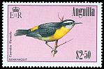 Cl: Bananaquit (Coereba flaveola)(Repeat for this country)  SG 673 (1985) 550