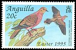 Cl: Zenaida Dove (Zenaida aurita)(Repeat for this country)  SG 959 (1995) 50