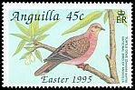 Cl: Zenaida Dove (Zenaida aurita)(Repeat for this country)  SG 960 (1995) 75