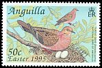 Cl: Zenaida Dove (Zenaida aurita)(Repeat for this country)  SG 961 (1995) 80