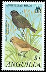 Cl: Black-faced Grassquit (Tiaris bicolor) SG 1100 (2001) 100
