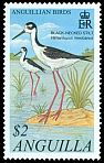 Cl: Black-necked Stilt (Himantopus mexicanus)(Repeat for this country)  SG 1102 (2001) 200