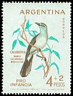 Cl: Chalk-browed Mockingbird (Mimus saturninus) <<Calandria>>  SG 1076 (1962) 200 I have 1 spare [1/25]