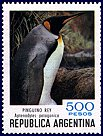 Cl: King Penguin (Aptenodytes patagonicus)(Repeat for this country)  SG 1687a (1980) 100 [8/12]