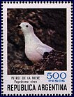 Cl: Snow Petrel (Pagodroma nivea)(Out of range)  SG 1687m (1980) 100 [8/12]