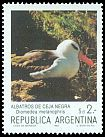 Cl: Black-browed Albatross (Thalassarche melanophris) <<Albatros de ceja negra>>  SG 1858c (1983) 65
