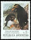 Cl: Macaroni Penguin (Eudyptes chrysolophus) <<Pinguino macaroni>> (Out of range)  SG 1858d (1983) 40