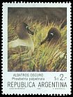 Cl: Light-mantled Albatross (Phoebetria palpebrata) <<Albatros oscuro>> (Out of range)  SG 1858i (1983) 40