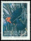 Cl: Scarlet-headed Blackbird (Amblyramphus holosericeus) <<Federal>> (Repeat for this country)  SG 2342 (1993) 275