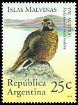 Cl: Canary-winged Finch (Melanodera melanodera) <<Yal austral>>  SG 2384 (1994) 100