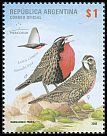 Cl: Long-tailed Meadowlark (Sturnella loyca) <<Loica com&uacute;n>>  SG 3288 (2008)