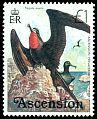 Cl: Ascension Island Frigatebird (Fregata aquila)(Endemic or near-endemic)  SG 213 (1976) 100