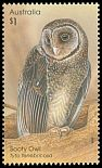 Cl: Greater Sooty-Owl (Tyto tenebricosa) SG 4593 (2016)  [10/17]