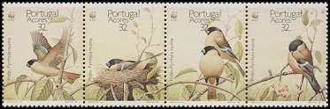 Cl: Eurasian Bullfinch (Pyrrhula pyrrhula murina) <<Priolo>> (Repeat for this country)  SG 500-3 (1990) 680 [3/9]