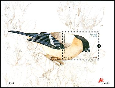 Cl: Eurasian Bullfinch (Pyrrhula pyrrhula murina) <<Priolo>> (Repeat for this country)  SG 640a (2008) 700 [4/51]