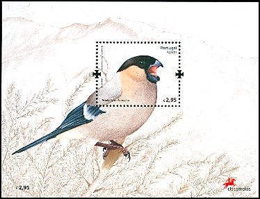 Cl: Eurasian Bullfinch (Pyrrhula pyrrhula murina) <<Priolo>> (Repeat for this country)  SG 640b (2008) 700 [4/51]