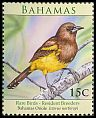 Cl: Greater Antillean Oriole (Icterus dominicensis northropi)(Repeat for this country)  SG 1528 (2009) 65