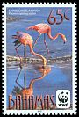 Cl: Caribbean Flamingo (Phoenicopterus ruber)(Repeat for this country) (I do not have this stamp)  SG 1618 (2012)