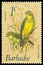 Cl: Grassland Yellow-Finch (Sicalis luteola) <<Grass Canary>>  SG 622 (1979) 10