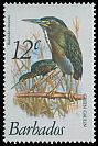 Cl: Green Heron (Butorides virescens) <<Green Gaulin>>  SG 627 (1979) 50