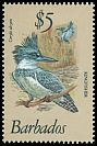 Cl: Belted Kingfisher (Ceryle alcyon) SG 637 (1979) 325