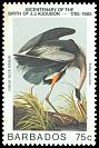 Cl: Great Blue Heron (Ardea herodias) SG 786 (1985) 275