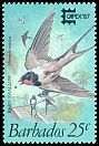 Cl: Barn Swallow (Hirundo rustica) SG 836 (1987) 200