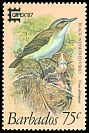 Cl: Black-whiskered Vireo (Vireo altiloquus) SG 839 (1987) 250