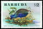 Cl: Purple Gallinule (Porphyrio martinica) SG 267 (1976) 30