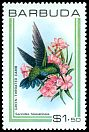 Cl: Green-throated Carib (Eulampis holosericeus) SG 515 (1980) 150