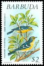 Cl: Barbuda Warbler (Dendroica subita) <<Christmas Bird!>> (Endemic or near-endemic)  SG 1249 (1991) 375
