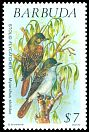 Cl: Lesser Antillean Flycatcher (Myiarchus oberi)(Repeat for this country)  SG 1251 (1991) 750