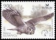 Cl: Great Grey Owl (Strix nebulosa) <<kyrakayka>>  SG 619 (2005) 100 [3/47] I have 1 spare [2/38]